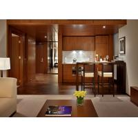Buy Contemporary Mahogany Panel Full Bedroom Custom Hotel Furniture Sets at wholesale prices