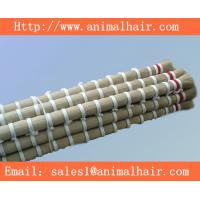 Quality double  drawn horse tail hair  for rocking  horse for sale