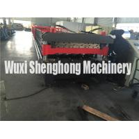 Quality 20 KW Double Layer Roll Forming Machine For Roof Tiles , Wall Cladding for sale