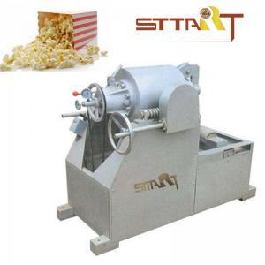 Quality Hot Air SS Puffed Rice Machine , Fast Speed Corn Puff Making Machine for sale