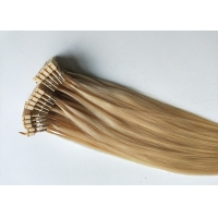Quality 100% remy human hair extension 50g #613 color 22 inch 6D 1 generation hair extensions for sale