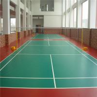 Badminton Court Flooring Pvc Sports Flooring Of