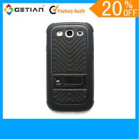 Quality Red Brand New PC / TPU Samsung Galaxy s3 Phone Cases / Knuckle Case With Official Size for sale
