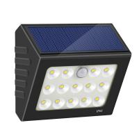 Quality 14LED Wireless Motion Sensor Wall Lights Motion Activated Solar PIR Wall Light Solar Panel Garden Lights for sale