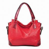 Quality Women's Shoulder Bag, Made of Genuine Leather, Available in red for sale