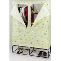 China Portable PEVA Cloth Wardrobes with Tube 16 mm GD-125FAB on sale