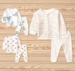 Quality 0-24month newborm cotton long sleeve pajamas for sale