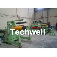 Quality Metal Sheet 3 - 12 * 2200mm Steel Slitting Machine Line To Slit Wide Coils, Strips for sale