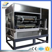Quality Fully automatic recycling waste paper egg tray machine with best price for sale