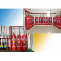 100L Cylinders Manual FM200 Gas Suppression System Colorless Tasteless