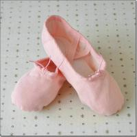 high quality canvas fabric dance shoes practice ballet shoes with children and adult sizes