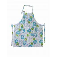 Cotton Bib Spring Floral Printed Old Fashioned Aprons Ladies Apron