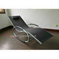 Aluminium beach lounge for sale aluminium beach lounge of for Chaise aluminium textilene