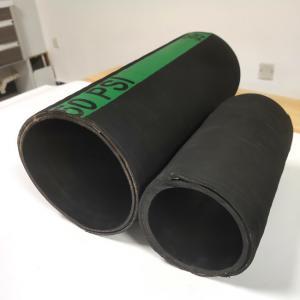 Quality Textile Plies Reinforcement Dry Cement Hose , Barytes Rubber Hose for sale