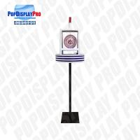 Buy cheap Floor Standing Acrylic Display Rack Creative POP Led Light For Draft Beers from wholesalers