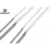 Quality FeCrAl135 Heating Spring Wire 0Cr23Al5 Long Service Life Good Processing Performance for sale