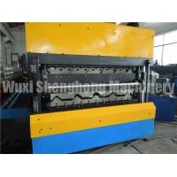 Quality Double Layer Corrugated Sheet Roll Forming Machine With Hydraulic Station for sale