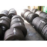 Quality steel wire rope specifications steel tension cable 6x25 marine steel wire rope for sale