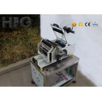 Omron Detect Magic Eye Hand Semi Automatic Round Bottle Sticker Labelling Machine for sale
