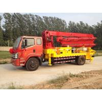 Quality 25m Dongfeng Heavy Duty Concrete Pump Truck for Aerial Transport Concrete for Sale for sale
