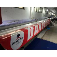Quality Transportation Tarpaulin Truck Cover 550gsm , PVC Tarpaulin Cover For Lorry Trailer for sale