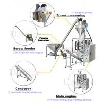 Quality Automatic Auger Weighing Filling Baby Milk Powder Packing Machine for sale