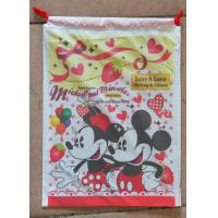 Buy cheap Lovely Printed Drawstring Plastic Bags With Disney Cartoons For Children Toy from Wholesalers