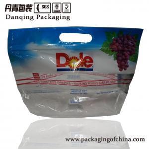 Quality Vivid Printing Food Grade Ziplock Fruit Packaging Bags, Leak Proof, Approved ISO for sale