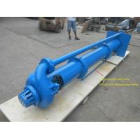 China High Chromium Alloy Vertical Submersible Pump Double Suction Semi Open Impeller on sale