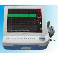 """Quality Portable 3 Parameters electronic 12.1""""maternal home fetal heart monitor 152mm wide paper for sale"""