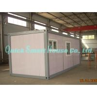 Quality Flatpack Modular Shipping Container Home Folding EPS 10mm OSB Ceiling for sale