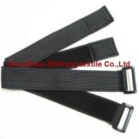 Elastic un brushed velcro hook and loop binding straps for Loop binden