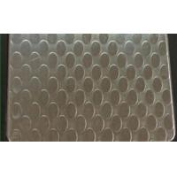 SUS 409 Patterned Stainless Steel Sheet , Textured Stainless Steel Sheet Metal