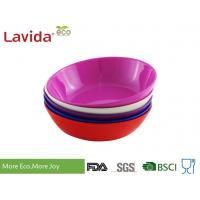 Quality Phthalate Free Melamine Cereal Bowls High Strength Endurable For Home / Restaurant for sale