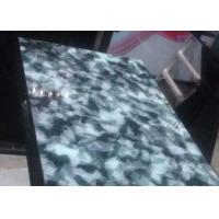Custom Dinning Jade Green Granite Countertops Table For Hotel / Home