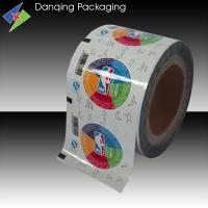 Quality Coloured Aluminium Foil Cup Sealer Film for Coffee Milk Tea Juice Beverage for sale