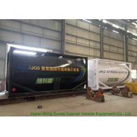 Quality Heating Insulated 20FT Tank Container Stanless Steel For PolyetherPolyol / PMPO for sale