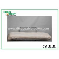 Quality Hospital Disposable Bed Sheets Sanitary PP Bedcover / Disposable Waterproof Sheets With Elastic for sale