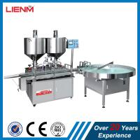 Quality Automatic double nozzles heads balm vaseline vaseling cream ointment paste filling machine price for sale
