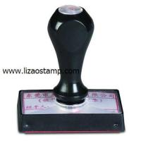 China LIZAO Rubber Stamp on sale
