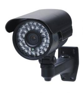 Quality DC12V Piranha LED 420TVL Varifocal Waterproof Bullet Indoor Infrared Surveillance Camera for sale