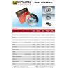 Buy cheap Motorcycle Brake Disc Rotor SUPRA100 SMASH TS125 CG125 45251-KEV-650 from wholesalers