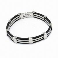 Quality 316L Stainless Steel Bracelet, Various Styles Available for sale