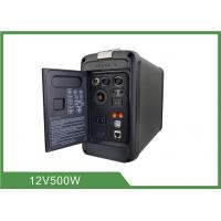 Quality 500W Portable Camping Battery Power Source Lithium Battery Inverter BMS All in One for sale