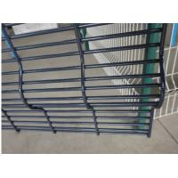 Quality Polyester Powder Anti Climb Fence / Security Fence Max Perimeter Protection for sale