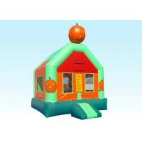Quality Funny Cartoon Halloween Inflatable Bounce House / Toddler Bouncy Castle for sale