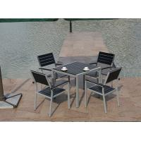 Quality Cheap Dining Table And 6 Chairs Set Outdoor Patio Restaurant Polywood Furniture for sale