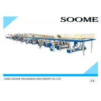 Buy Fully automatic corrugated carton box 3 ply production line making machine 1800 at wholesale prices