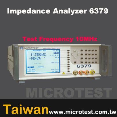 impedance analyzer: