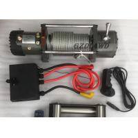 China Remote Control Wireless Heavy Duty Electric Winch 4X4 Off road 9500LBS For Truck / SUV on sale